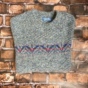 Vintage Pendleton Virgin Wool Sweater